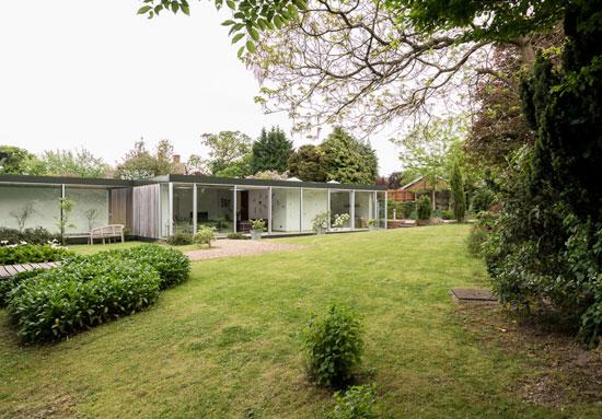 on the market 1960s michael manser designed single storey modernist