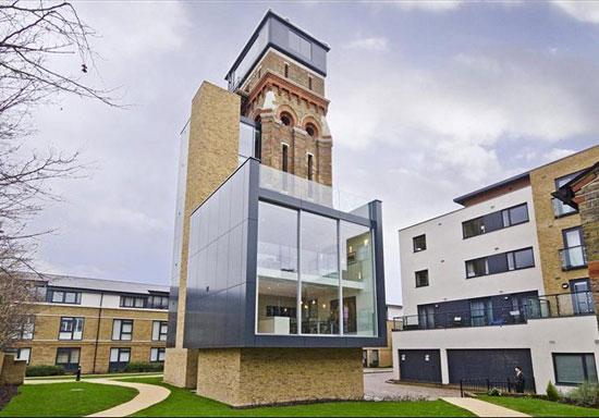 1. Grand Designs: Water Tower in Kennington, London SE1
