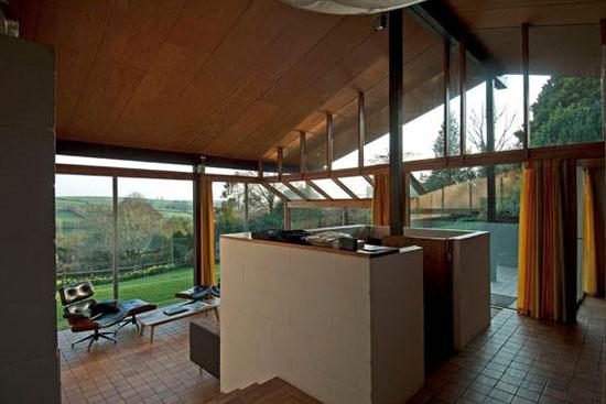 1970s Peter Aldington-designed Anderton House in Goodleigh, Devon