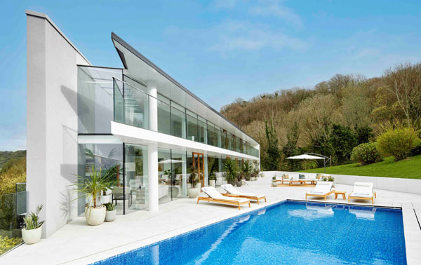 Win a modern house in Devon with Omaze