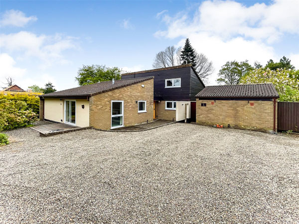 1970s modern house in Oswestry, Shropshire