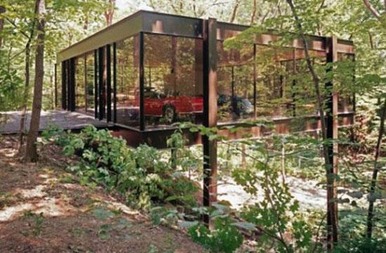 1. 1950s A. James Speyer and David Haid-designed 'Ferris Bueller' modernist house in Highland Park, Illinois, USA