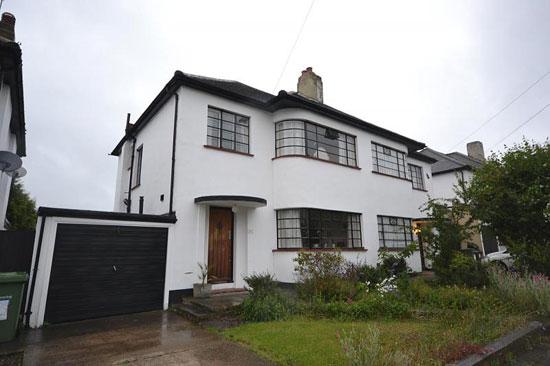Three-bedroom 1930s art deco property in Gidea Park, Romford, Essex