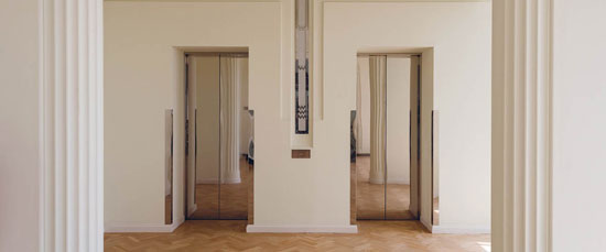 Show apartments open in the 1930s Wallis, Gilbert and Partners-designed art deco Hoover Building in Perivale, west London