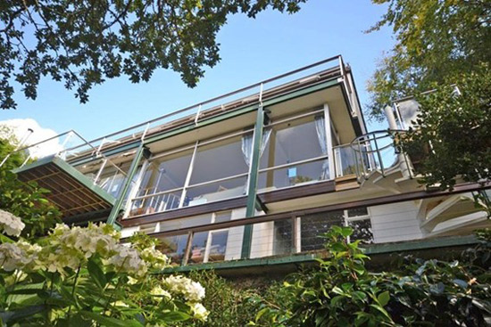 On the market: 1960s Michael Newberry-designed modernist property in Falmouth, Cornwall