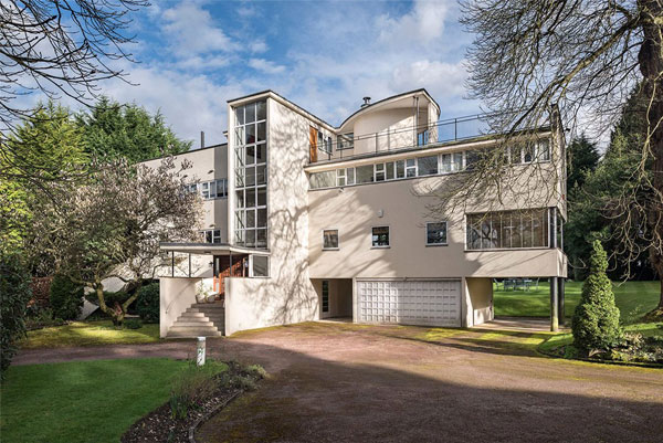 12. Grade II-listed modernism: 1930s Connell, Ward and Lucas-designed property in Rickmansworth, Hertfordshire