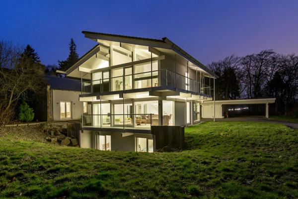 13. Huf Haus for sale: Five-bedroom property in West Linton, near Edinburgh, Scotland