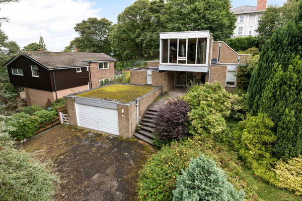 14. 1960s modern house in Parbold, Lancashire