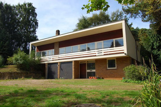 Candleriggs 1960s modernist property in Woodbridge, Suffolk
