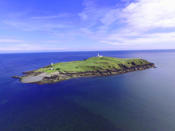 14. Own an island for £300k: Little Ross Island off the south west of Scotland