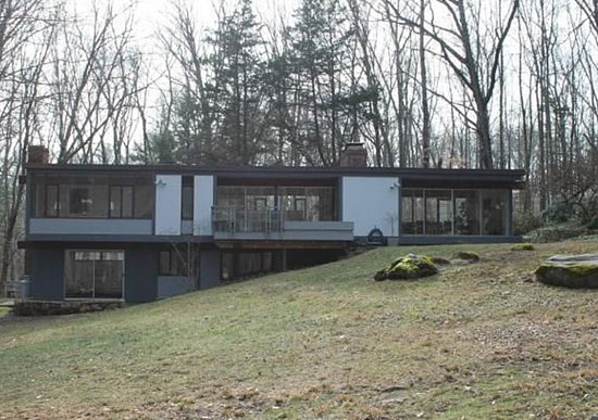 18. 1960s Thomas H. Fleming-designed midcentury modern property in Weston, Connecticut, USA