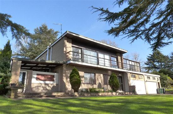 18. 1960s modernist property in Lancaster, Lancashire