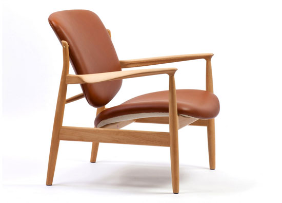 1950s Finn Juhl-designed France Chair reissued