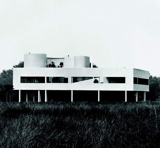Le Corbusier: Villa Savoye, Poissy, France, 1929. Fondation Le Corbusier