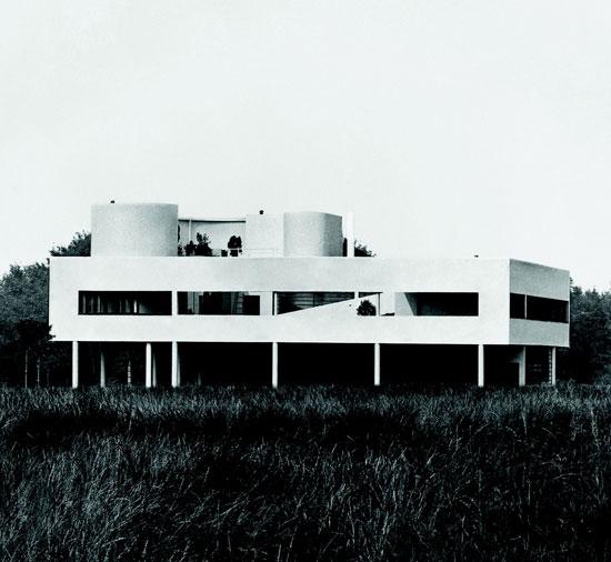 Le Corbusier: Villa Savoye, Poissy, France, 1929. Fondation Le Corbusier