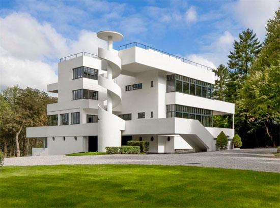 2. 1920s Marcel Leborgne-designed La Villa Dirickz in Sint-Genesius-Rode, Belgium