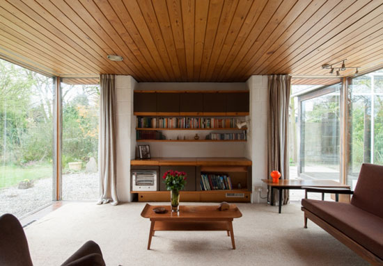 2. Peter Aldington-designed 1960s grade II-listed modernist property in Bessacarr, near Doncaster, South Yorkshire