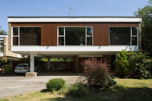 20. 1960s modernism: Clear Architects-designed property in Roydon, Essex