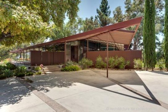 24. 1950s Rodney Walker-designed Walker Residence in Ojai, California, USA