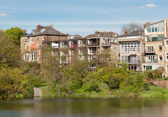 26. 1950s Bill Howell and Stan Amis-designed modernist property in South Hill Park, Hampstead, London NW3