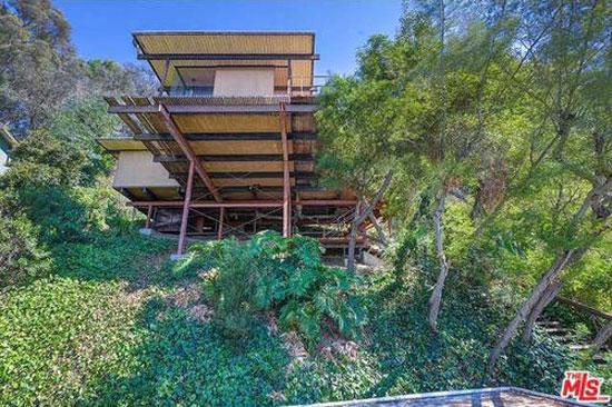 28. 1960s Raul Garduno-designed hillside midcentury property in Los Angeles, California, USA
