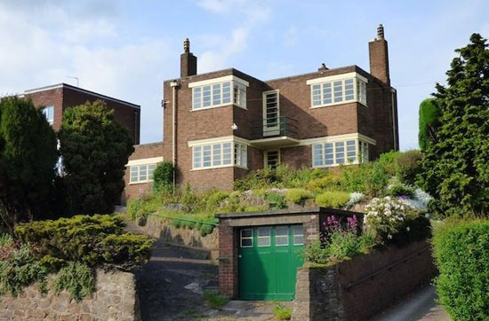 1930s detached art deco property in Burton-on-Trent, Staffordshire