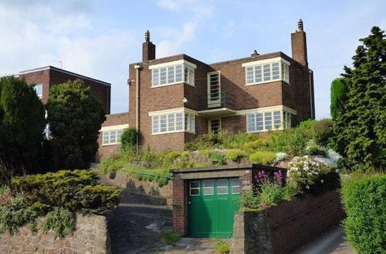 1930s detached art deco property in Burton-on-Trent, Staffordshire