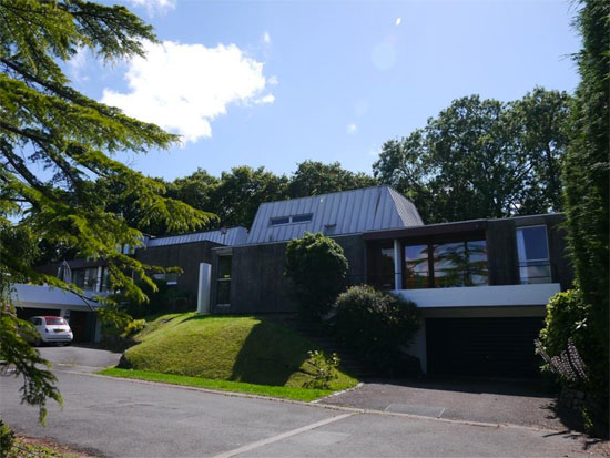 29. 1960s Thomas Glyn Jones and John R Evans-designed modernist property in Dinas Powys, South Wales