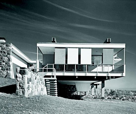 Marcel Breuer: Starkey House, Duluth, Minnesota, USA, 1955. © Ezra Stoller/ Esto