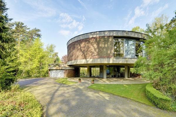 3. 1970s brutalism: Jackie Cuylen-designed property in Herentals, Antwerp, Belgium