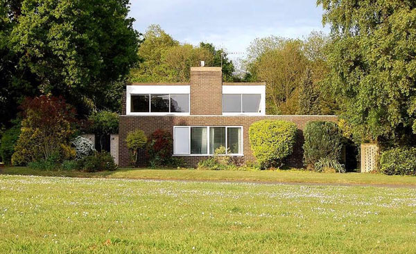 30. 1970s modernism: Mark Pawson-designed property in Great Barton, Suffolk