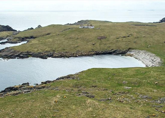 The Isle Of Grunay, Out Skerries, Shetland, Scotland