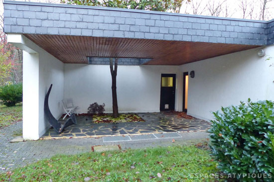 1970s modernist property in Pacy-sur-Eure, north west France