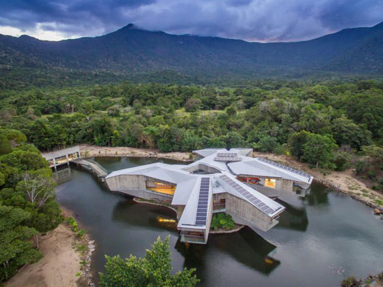 33. Charles Wright-designed Alkira brutalist property in Cape Tribulation, Queensland, Australia