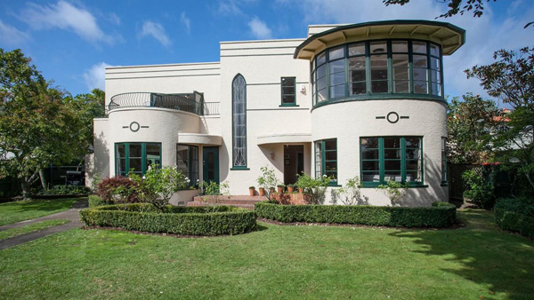 34. Art deco gem: 1930s three-bedroom property in Hamilton, New Zealand