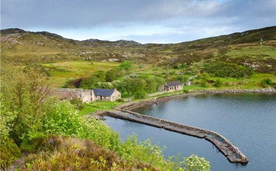 35. Tanera Mor Wicker Man island in the Inner Hebrides, Scotland