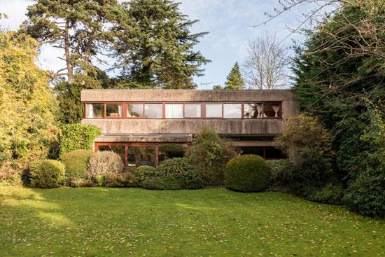 36. 1960s Gerd Kaufmann-designed brutalist property in Stanmore, Middlesex