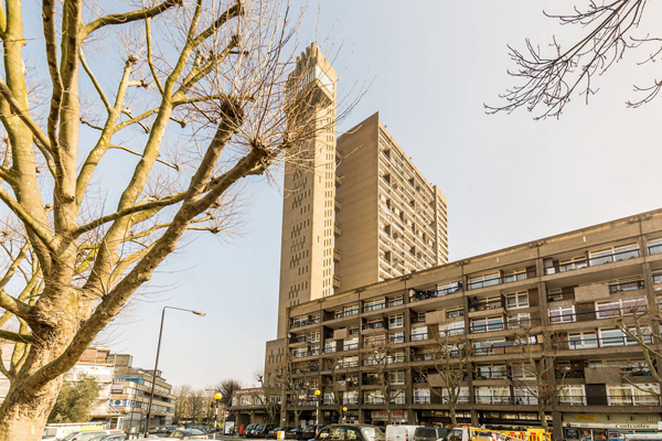 37. Brutalist apartment: One-bedroom flat in the Erno Goldfinger-designed Trellick Tower, London W10