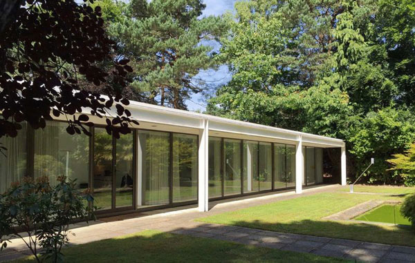 38. 1970s modernism: Richard Horden-designed Wildwood property in Poole, Dorset