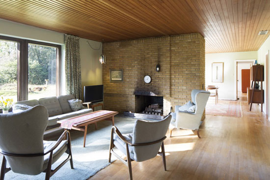 39. 1960s Aage & Carol Moller-designed Scandinavian-style property in Plummers Plain, West Sussex