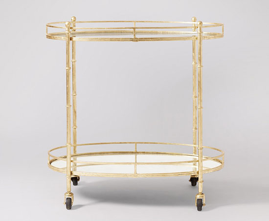 Tiffany drinks trolley