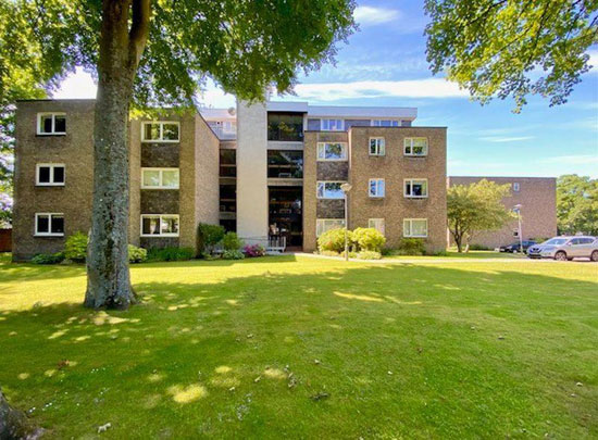 1970s time capsule apartment in Ayr, southwest Scotland