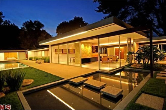4. 1950s Richard Neutra-designed Singleton House in Los Angeles, California, USA – former home of Vidal Sassoon