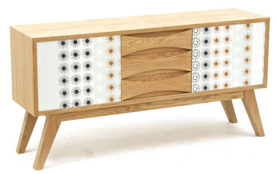 4. Retro Sideboard by James Design