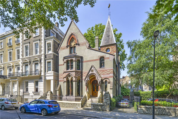 41. 19th-century gothic revival house in London NW1