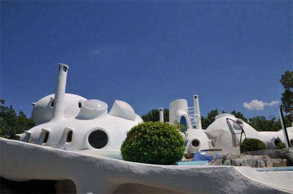 44. Claude Hausermann-Costy's Bubble House in Uzes, Gard, France
