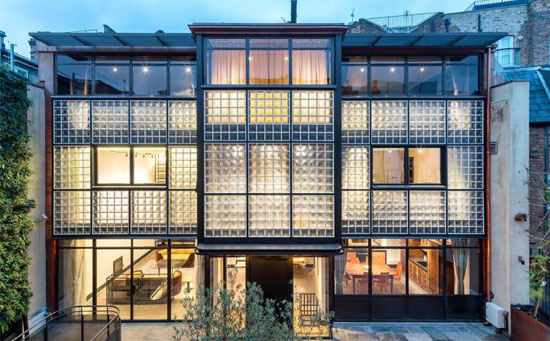 Eglon Mews modernist property in London NW1
