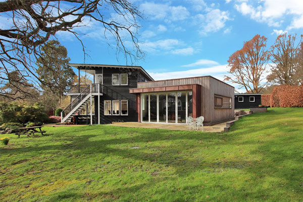 45. The Wood House by Walter Gropius in Shipbourne, Kent