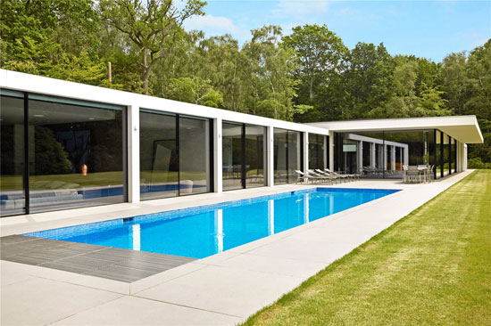 5. Grand Designs: Modernist property in Colgate, Horsham, West Sussex