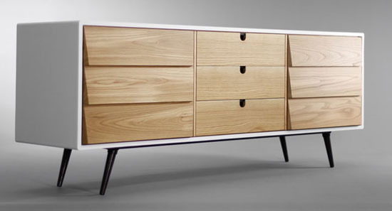 5. Midcentury-style sideboard by Habitables at Etsy